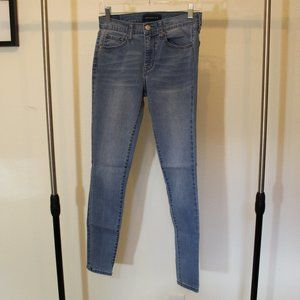 Aero Blue Jeans (High Waisted)